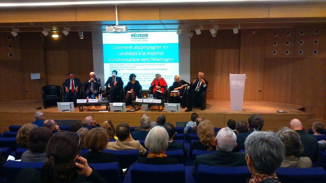 Eröffnung des Projekts Réussir sans Frontière – Erfolg ohne Grenzen