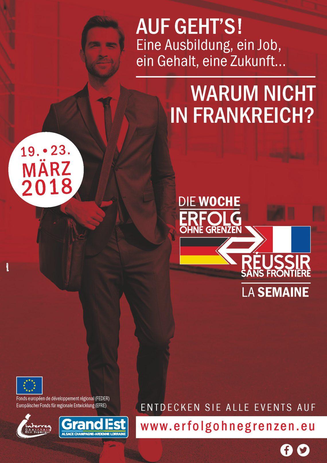 """Nehmen Sie an der Woche """"Erfolg ohne Grenzen"""" teil vom 19. Bis 23. März"""
