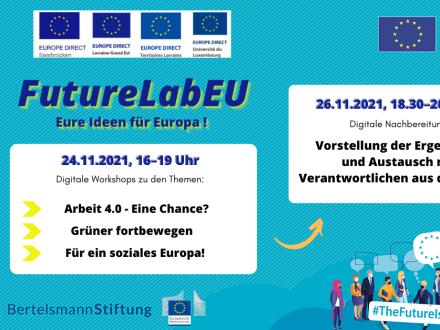 Eure Ideen für Europa! Grenzüberschreitende Zukunftswerkstatt